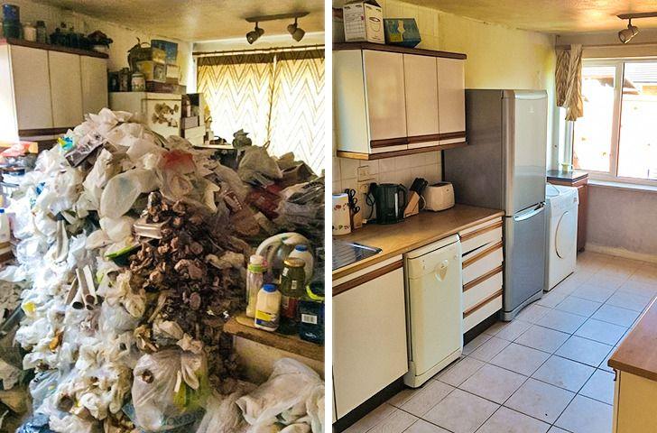 Bersih bersih dapur