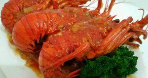 Resep Masak Udang Lobster Asam Pedas